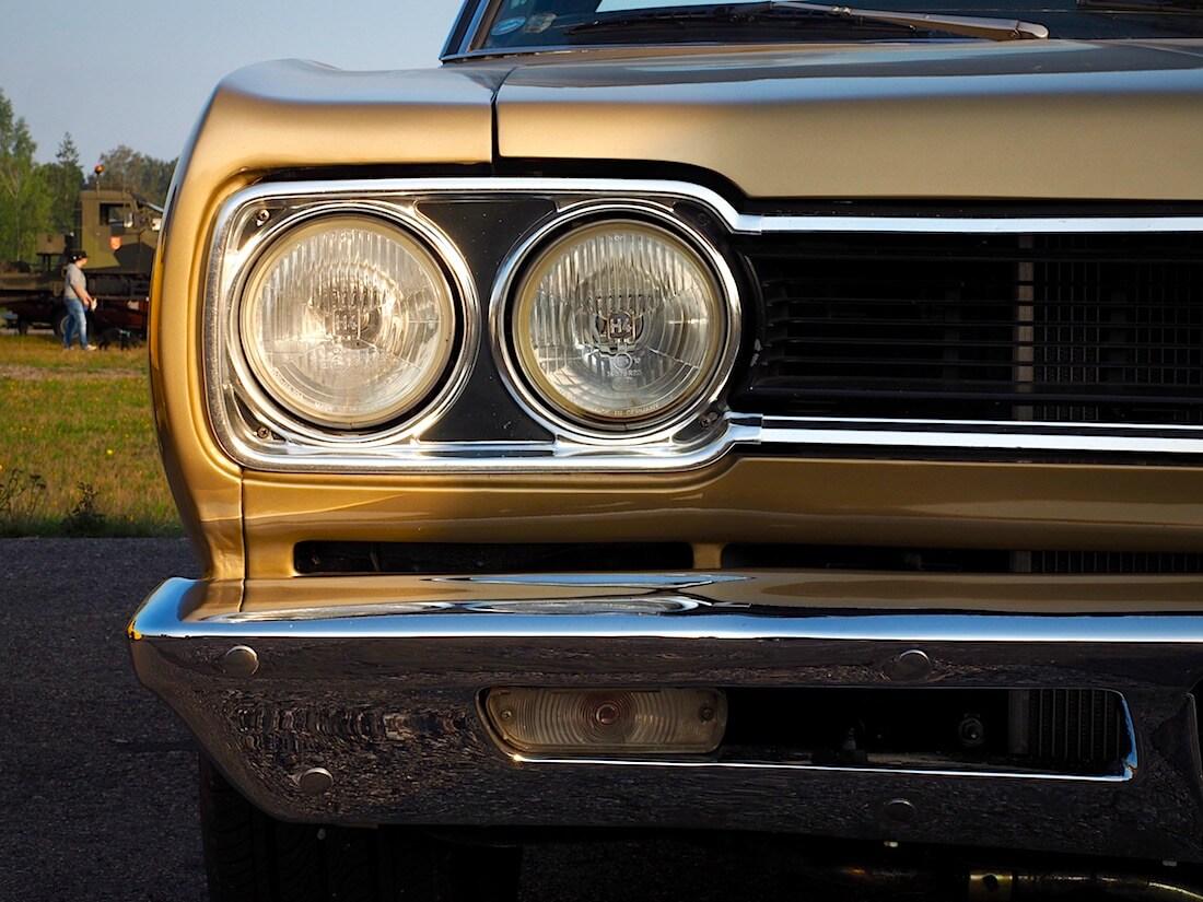 1968 Plymouth Satellite 2d Hardtop 440cid ajovalot. Tekijä: Kai Lappalainen. Lisenssi: CC-BY-40.