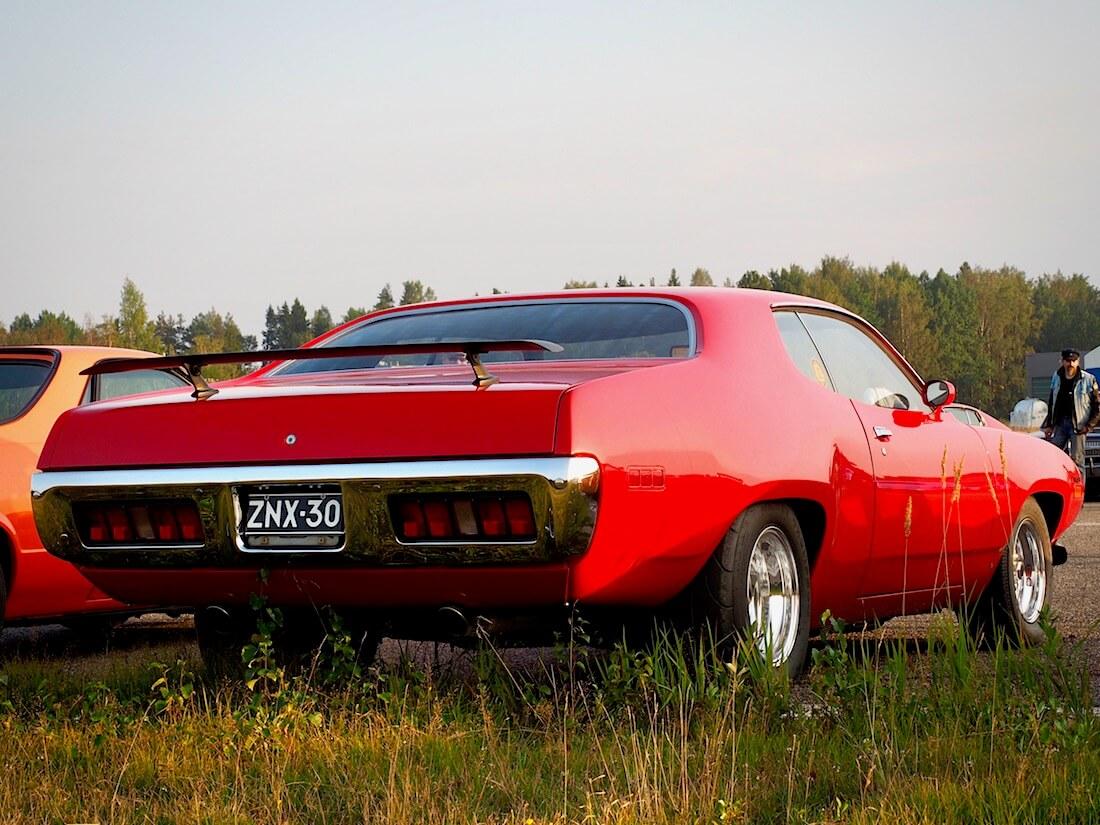 1971 Plymouth Statellite Sebring Plus 425cid HEMI takaa. Tekijä: Kai Lappalainen. Lisenssi: CC-BY-40.