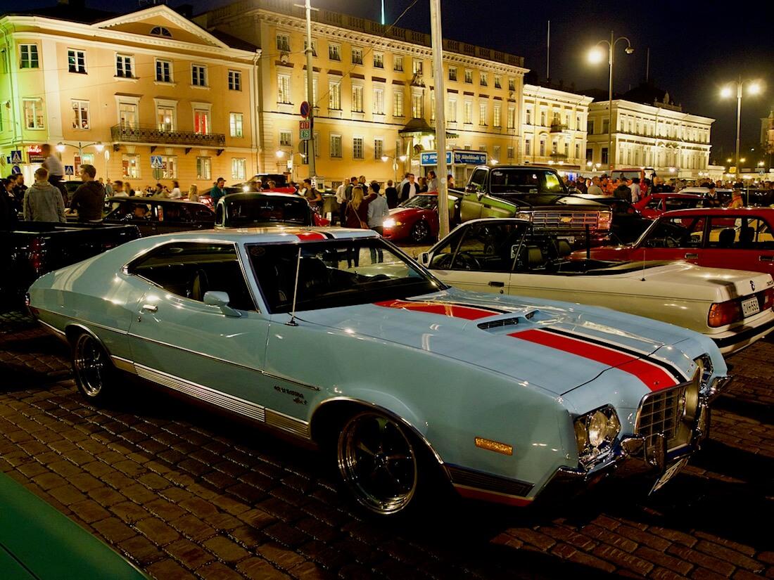1972 Ford Gran Torino Sport 351cid V8. Tekijä: Kai Lappalainen. Lisenssi: CC-BY-40.