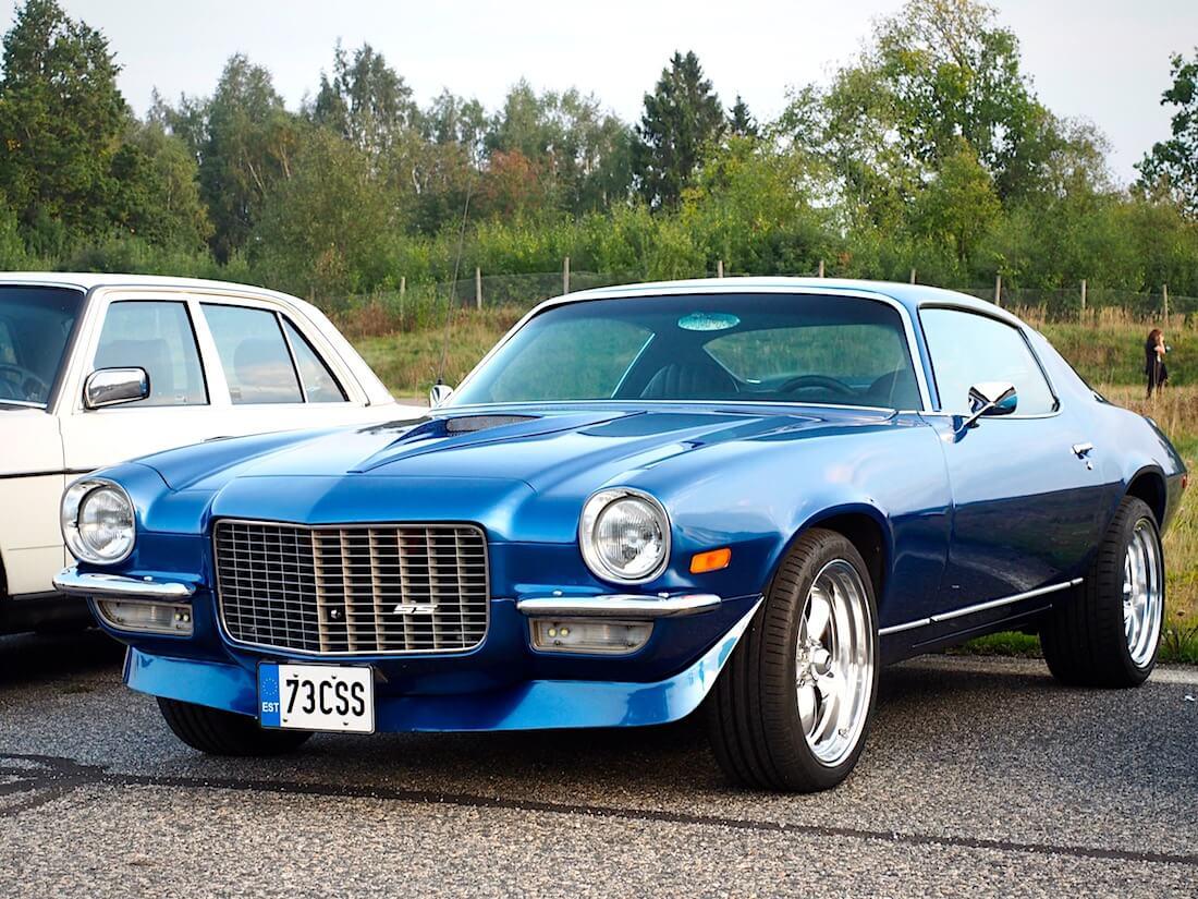 "1973 Chevrolet Camaro LT ""Super Sport"". Tekijä: Kai Lappalainen. Lisenssi: CC-BY-40."
