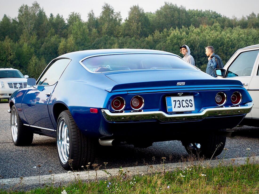 """1973 Chevrolet Camaro LT """"Super Sport"""" takaa. Tekijä: Kai Lappalainen. Lisenssi: CC-BY-40."""