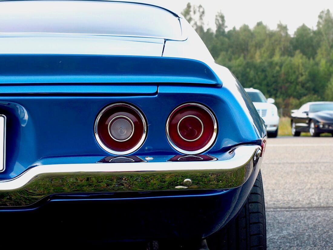 1973 Chevrolet Camaro LT takavalot. Tekijä: Kai Lappalainen. Lisenssi: CC-BY-40.
