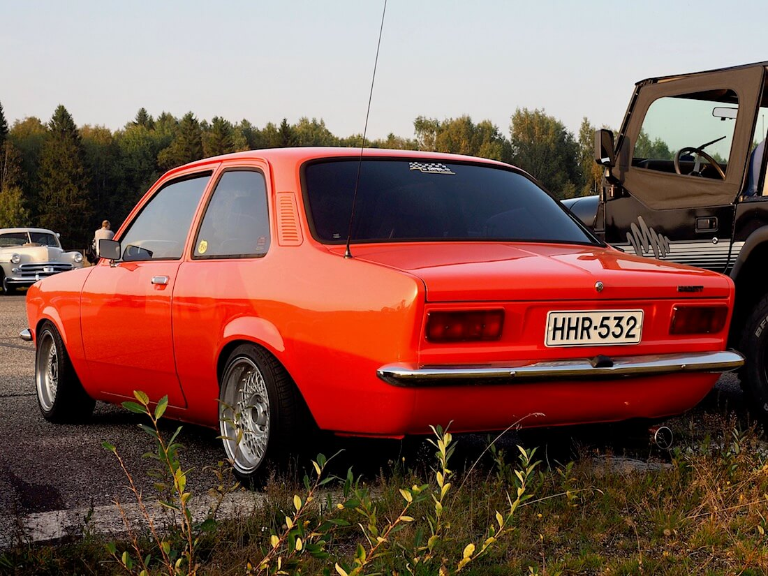 1977 Opel Kadett C 1.2 2d Sedan. Tekijä: Kai Lappalainen. Lisenssi: CC-BY-40.