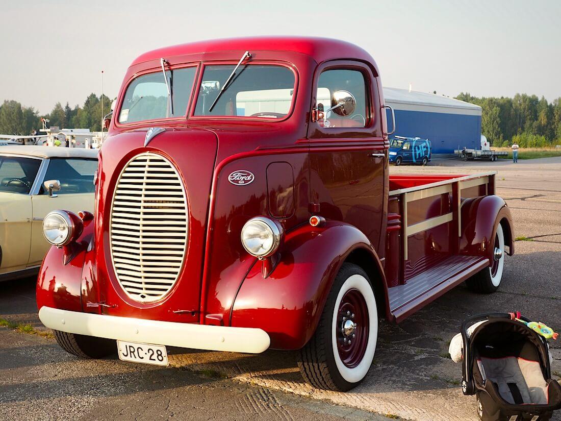 1930-luvun Ford COE kuorma-auton kori Econolinen rungolla. Tekijä: Kai Lappalainen. Lisenssi: CC-BY-40.