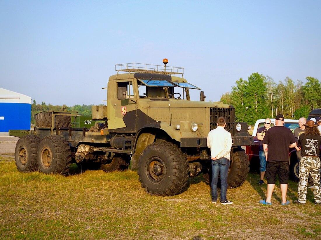1987 KrAZ 255B 6x6 kuorma-auto Malmilla. Tekijä: Kai Lappalainen. Lisenssi: CC-BY-40.