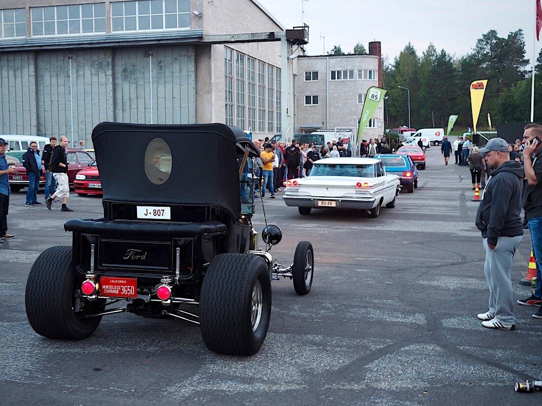 Ford T_Bucket rodi cruisingletkassa Stadissa. Tekijä: Kai Lappalainen. Lisenssi: CC-BY-40.