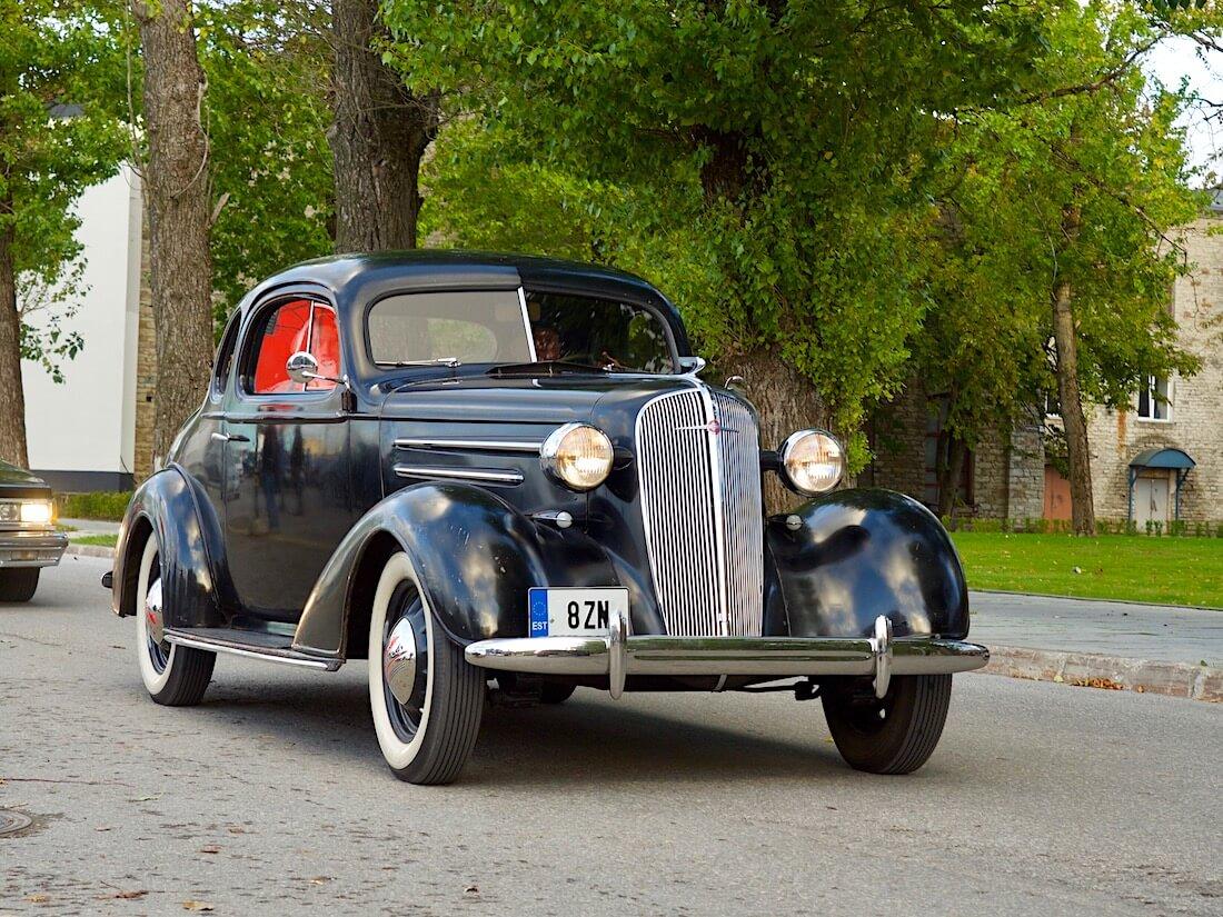 1936 Chevrolet Master Business Coupe Tallinnan kadulla. Tekijä: Kai Lappalainen. Lisenssi: CC-BY-40.
