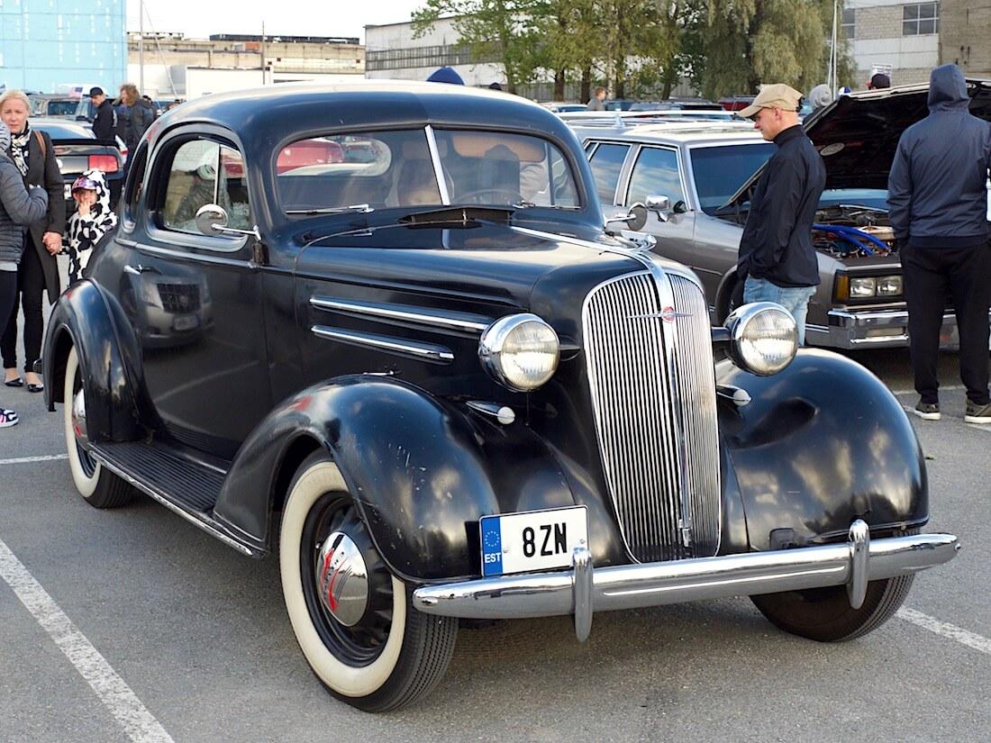 1936 Chevrolet Master Business Coupe Tallinnassa. Tekijä: Kai Lappalainen. Lisenssi: CC-BY-40.