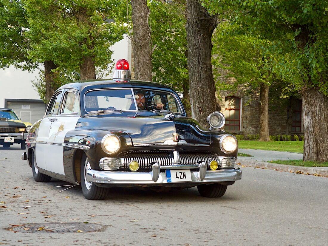 1950 Mercury Eight 255cid Flathead Tallinnassa. Tekijä: Kai Lappalainen. Lisenssi: CC-BY-40.