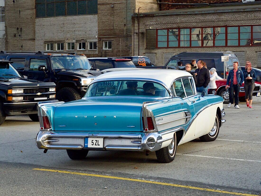 1958 Buick Super Riviera 364cid Nailhead. Tekijä: Kai Lappalainen. Lisenssi: CC-BY-40.