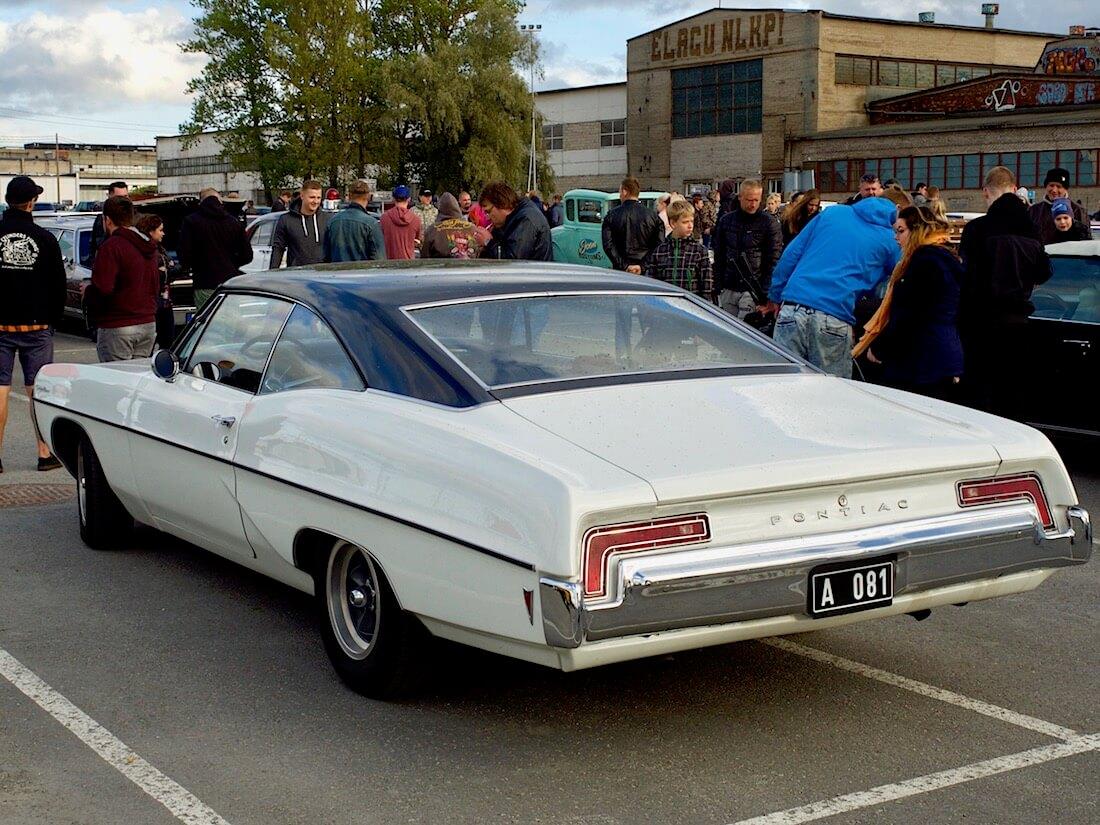 1968 Pontiac Catalina museoauto. Tekijä: Kai Lappalainen. Lisenssi: CC-BY-40.