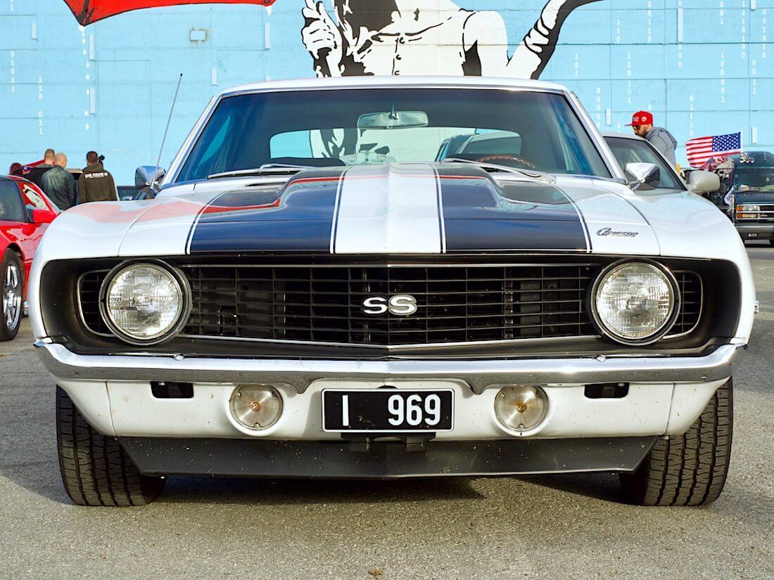 1969 Chevrolet Camaro SS Super Sport 350cid. Tekijä: Kai Lappalainen. Lisenssi: CC-BY-40.