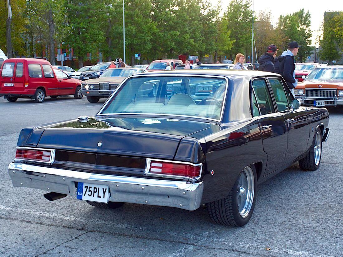 1975 Plymouth Valiant 4d Sedan. Tekijä: Kai Lappalainen. Lisenssi: CC-BY-40.