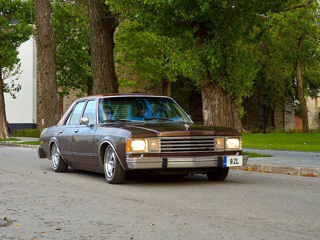 Air Morse One 1980 Dodge Aspen Lowrider. Tekijä: Kai Lappalainen. Lisenssi: CC-BY-40.