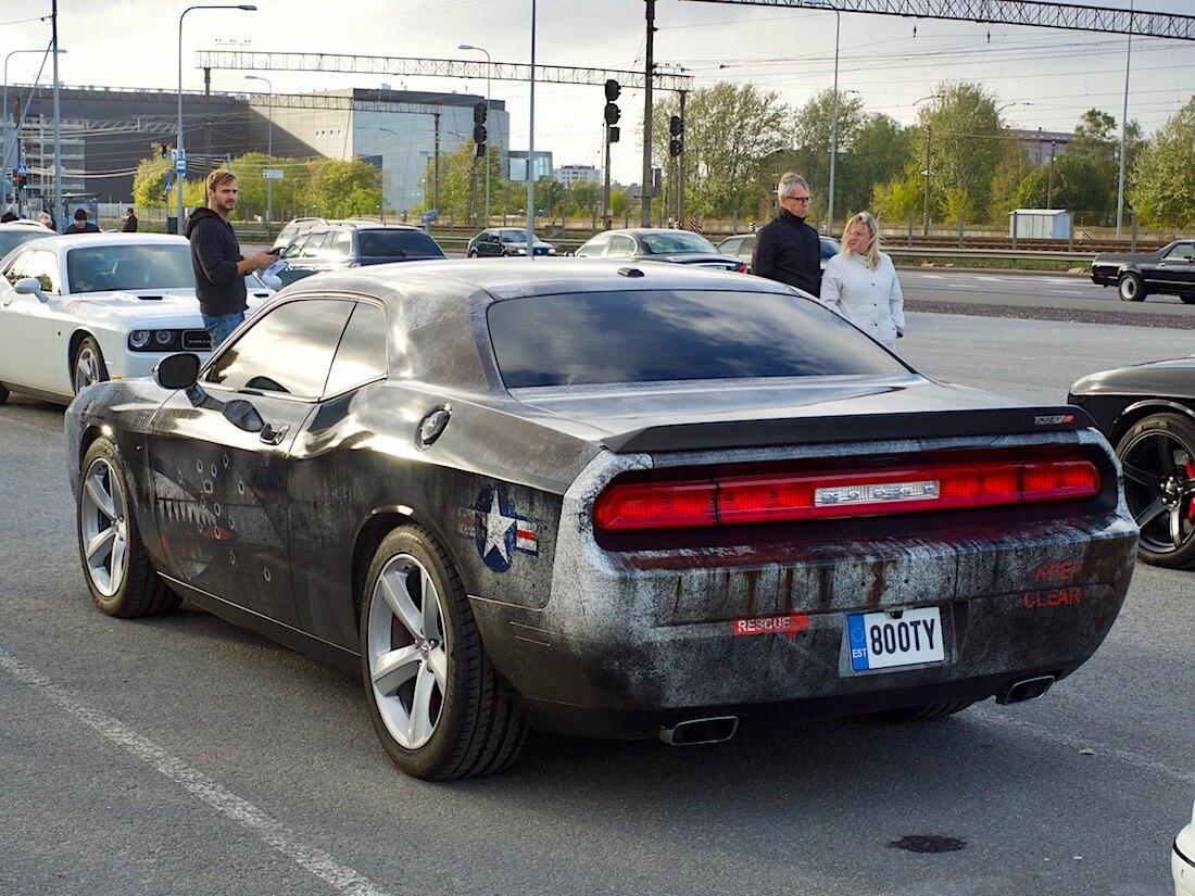 2008 Dodge Challenger SRT8 HEMI 6.1 370cid V8. Tekijä: Kai Lappalainen. Lisenssi: CC-BY-40.