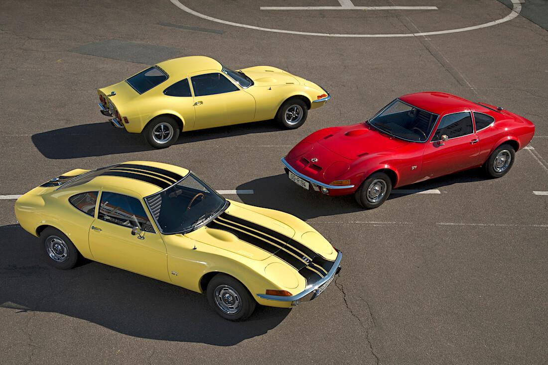 1968-1973 Opel GT autoja. Tekijä ja copyright: Opel Automobile GmbH