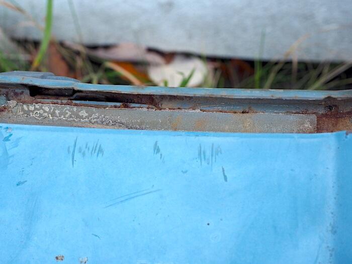 Pistehitsit eivät näy koripellissä ennen puhdistamista. Tekijä: Kai Lappalainen. Lisenssi: CC-BY-40.