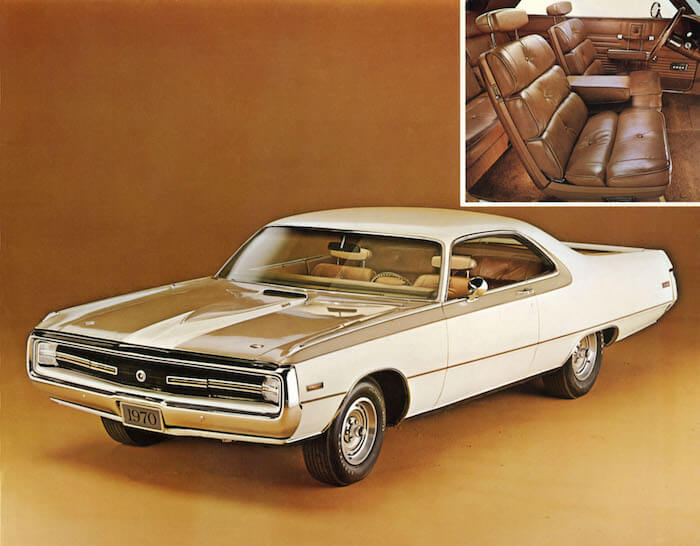 1970 Chrysler 300 Hurst mallin esitekuva. Kuva: Fiat Chrysler Automobiles. Lisenssi: CC-BY-NC-ND-20.
