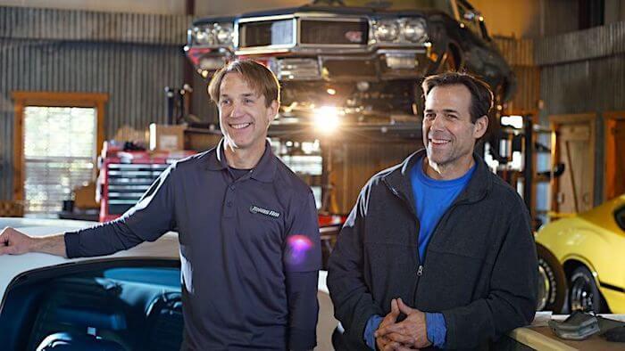 Trans Am sarjan Tod ja Scott Warmack. Kuva ja copyright: Discovery Networks.