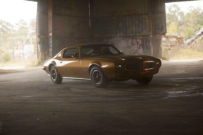 Driftaukseen rakennettu Pontiac Trans Am. Kuva ja copyright: Discovery Networks.