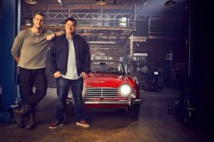 Whealer Dealers sarjan Ant Anstead ja Mike Brewer. Kuva ja copyright: Discovery Networks