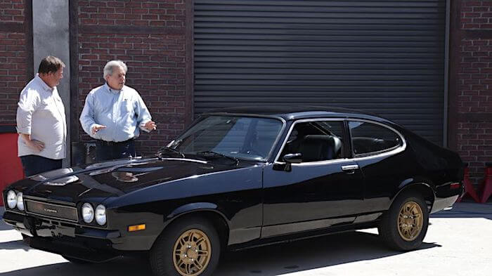 Mike Brewer ja 1976 Mercury Capri Mk2 V6. Kuva ja copyright: Discovery Networks
