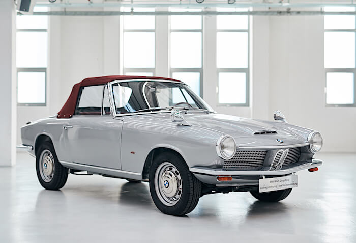 1967 BMW 1600 GT. Kuva ja copyright: BMW Group.