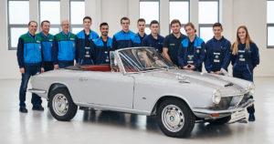 1967 BMW 1600 GT. Kuva ja copyright: BMW Group.