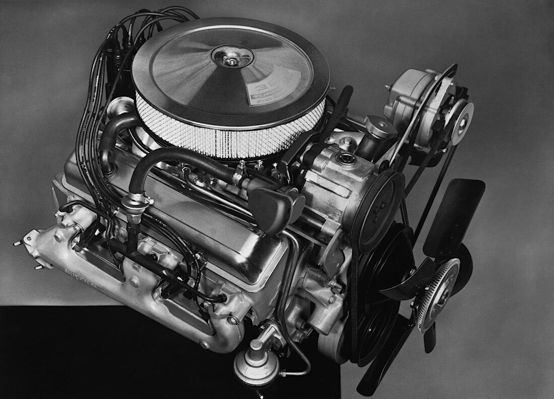 1967 Chevrolet Camaro Z/28 302.4cid V8-moottori. Kuva ja copyright: GM Media.