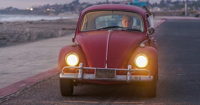 Kathleen Brooksin 560tkm ajettu kuplavolkkari. Kuva ja copyright: Volkswagen of America.