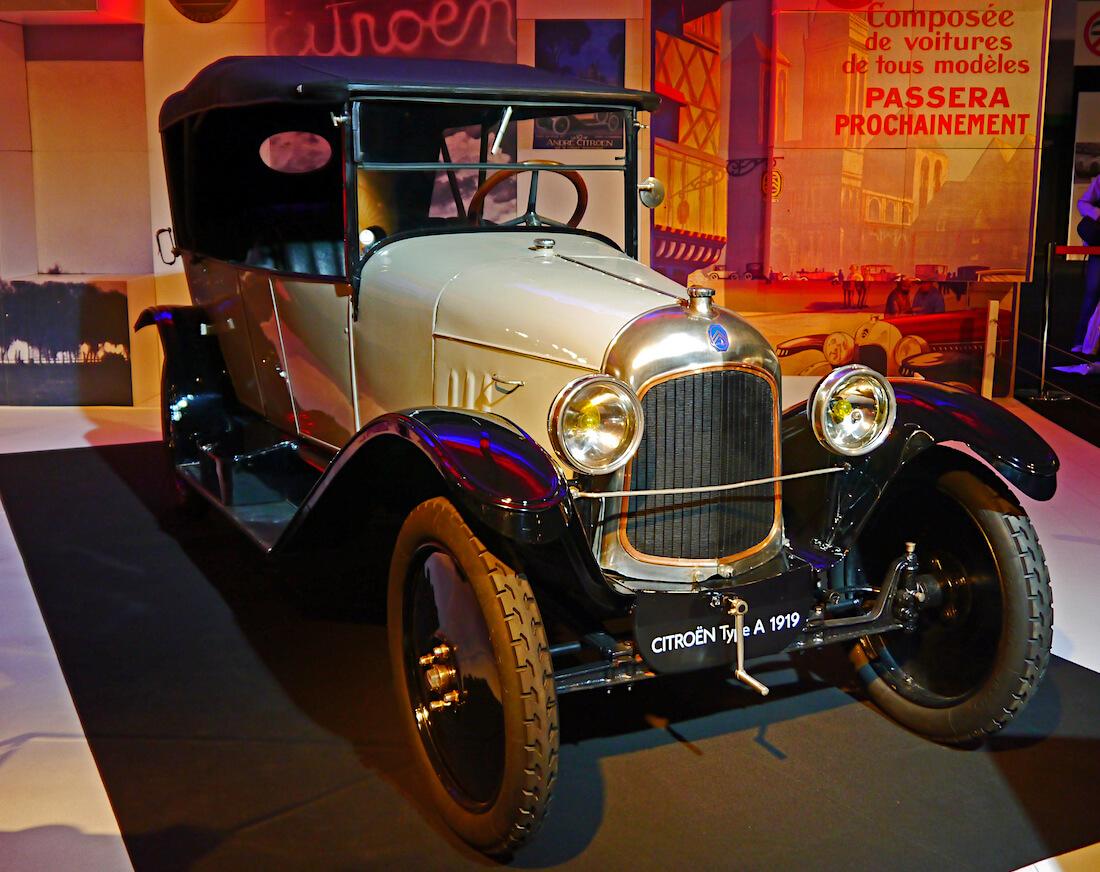 1919 Citroën 10HP Type A. Kuva: Mic, lisenssi: CCBY20.