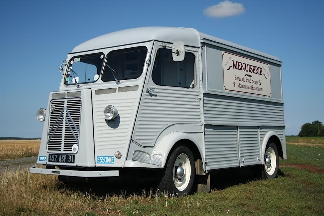 1952 Citroën Type H Camionnette. Kuva ja copyright: Citroen Communications.