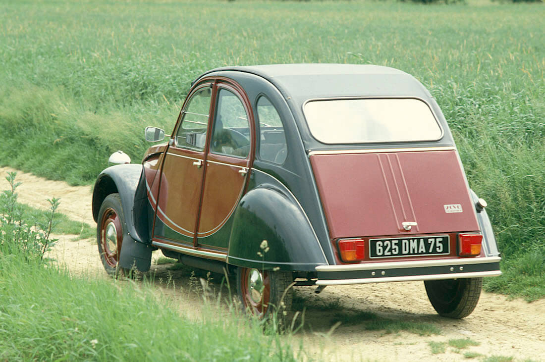 1982 Citroën 2CV Charleston. Kuva ja copyright: Citroen Communications.