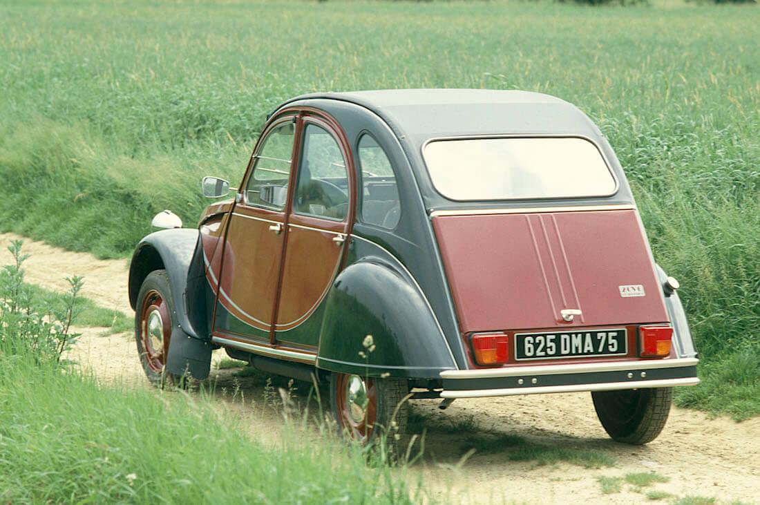 1982 Citroën 2CV Charleston. Kuva ja copyright: Citroen Communications.