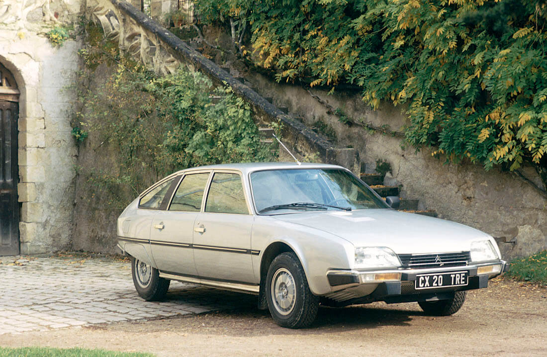 1983 Citroën CX 20 TRE. Kuva ja copyright: Citroen Communications.