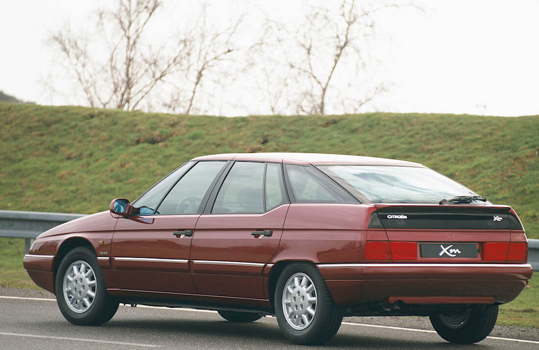 1997 Citroën XM Exclusive takaa. Kuva ja copyright: Citroen Communications.