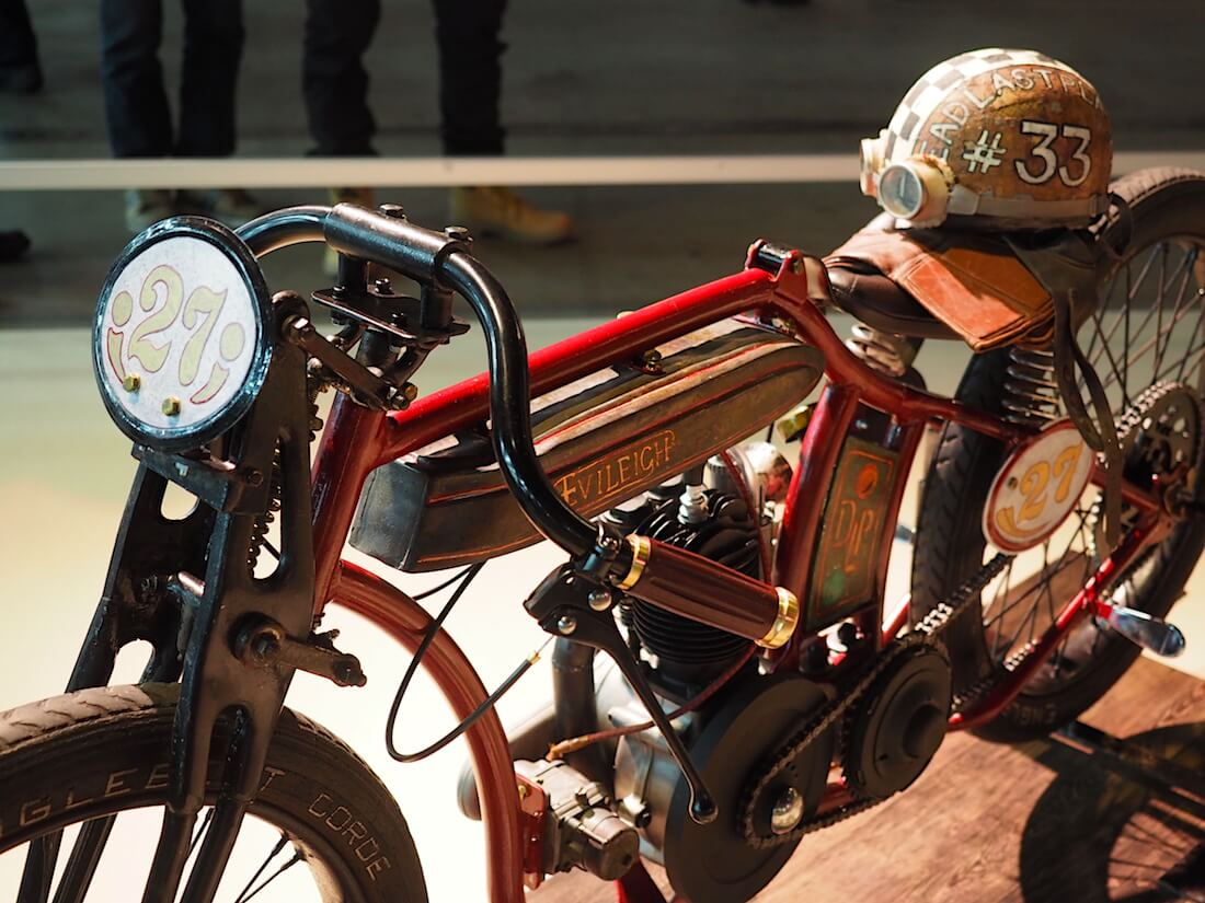 1927 Evileigh 250cc. Kuva: Kai Lappalainen. Lisenssi: CC-BY-40.
