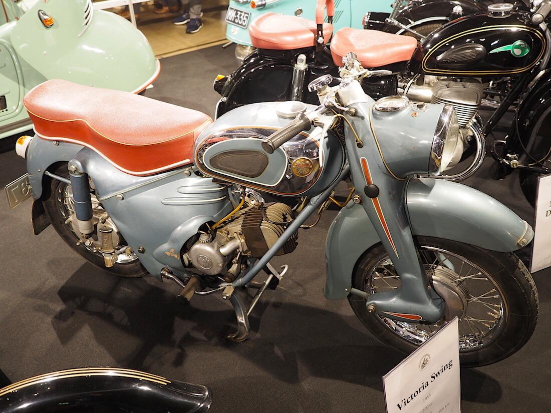 1955 Victoria Swing 200cc. Kuva: Kai Lappalainen. Lisenssi: CC-BY-40.