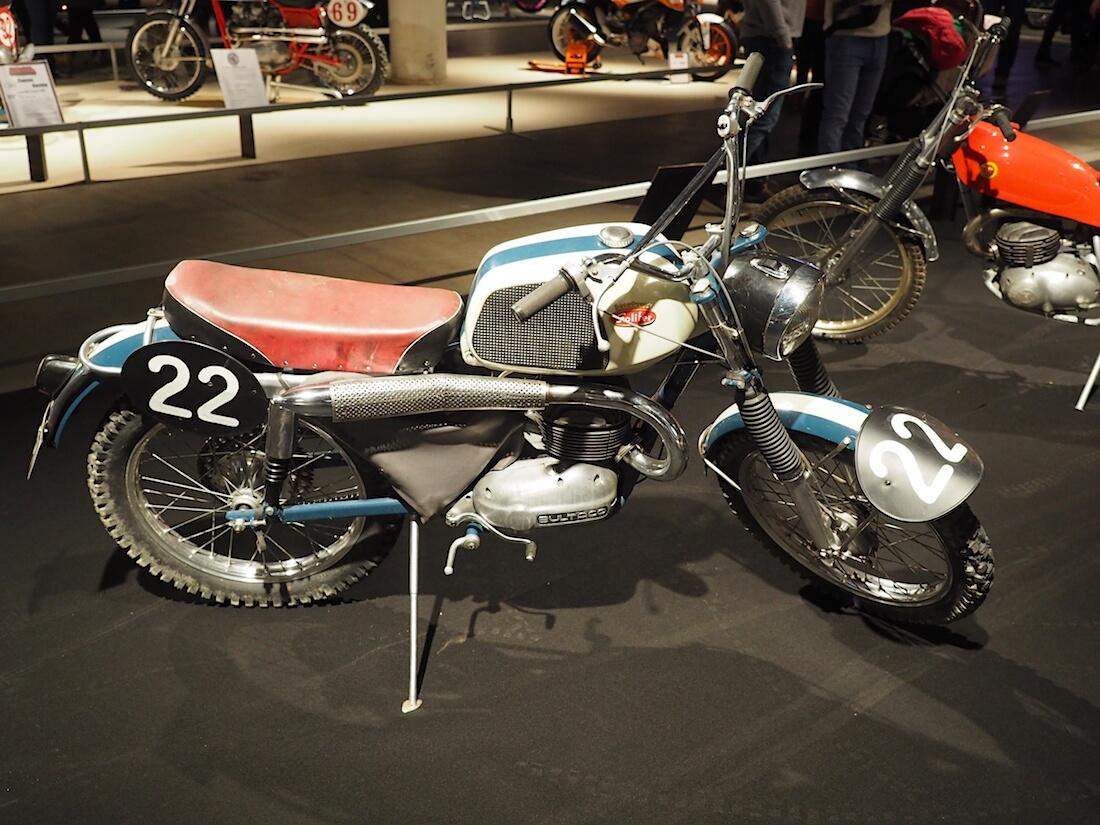 1962 Solifer A3 Enduro 125cc. Kuva: Kai Lappalainen. Lisenssi: CC-BY-40.