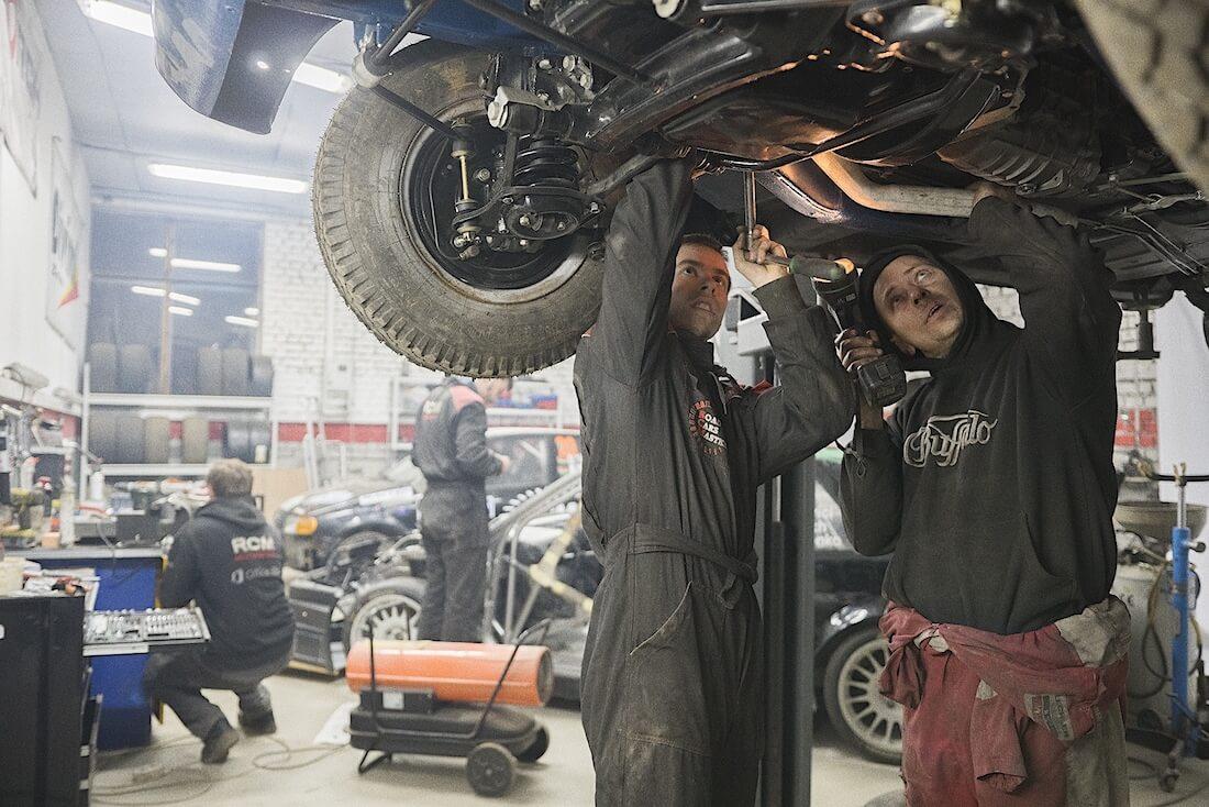 Volgan alustan säätäminen. Kuva ja copyright: RoadCarsMasters.