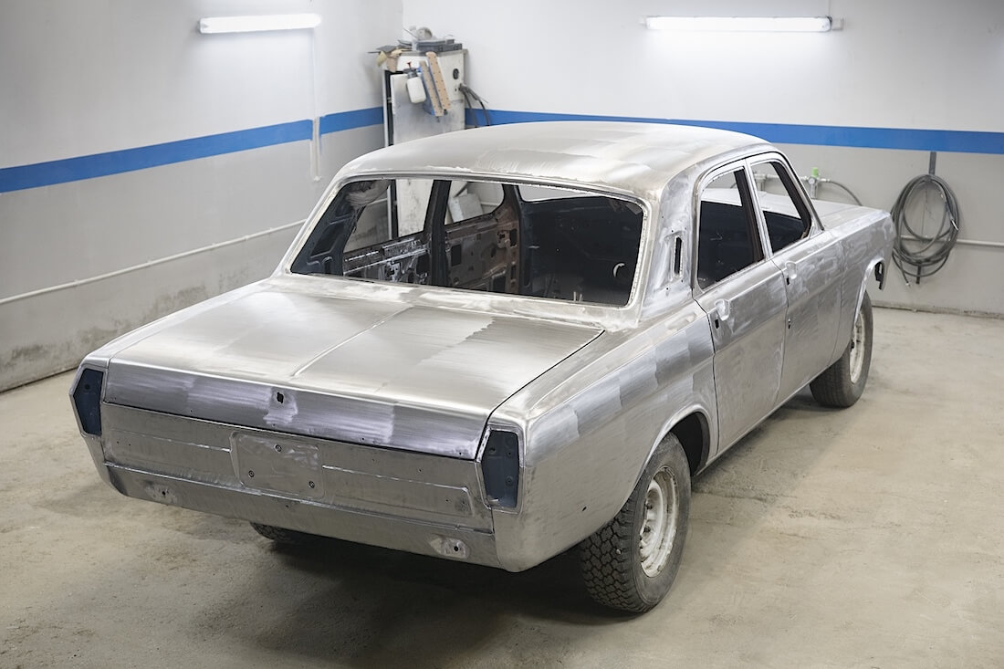 Peltivalmis Volga GAZ-24 kori. Kuva ja copyright: RoadCarsMasters.