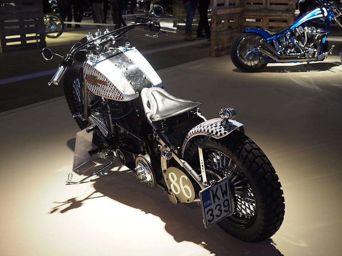 1986 Harley-Davidson Softail Custom. Kuva: Kai Lappalainen. Lisenssi: CC-BY-40.