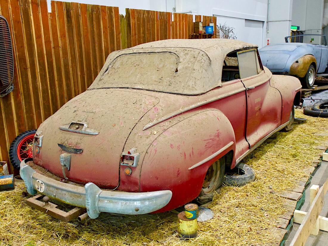 1946 Dodge Custom Convertible patina. Kuva: Kai Lappalainen. Lisenssi: CC-BY-40.