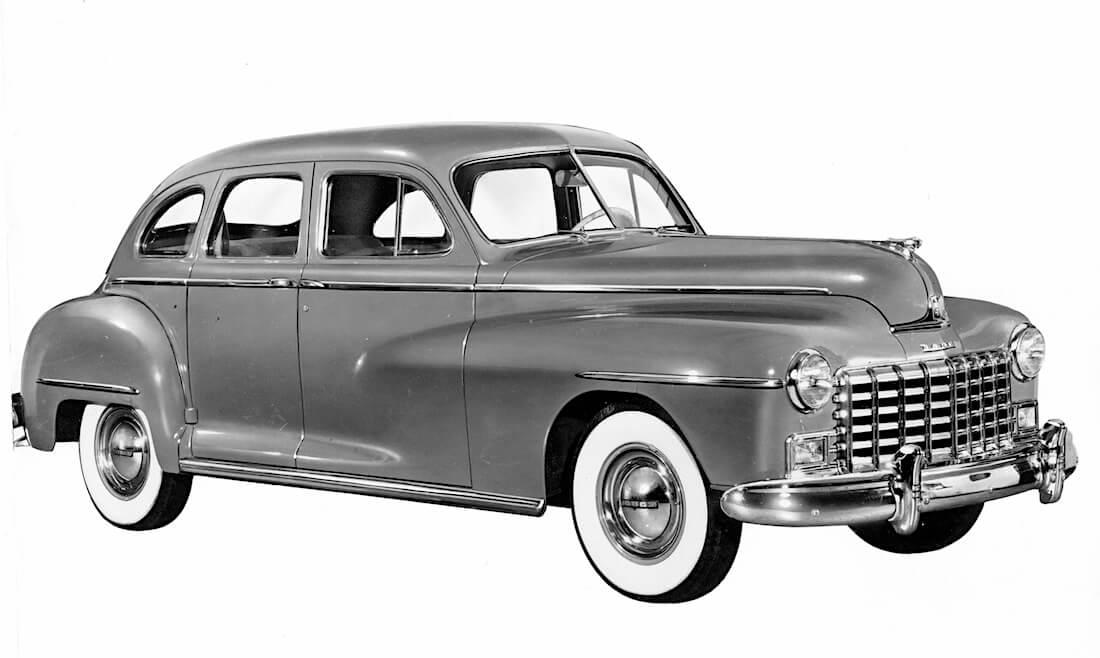 1946 Dodge Custom 4-door Sedan. Kuva ja copyright: FCA North America.
