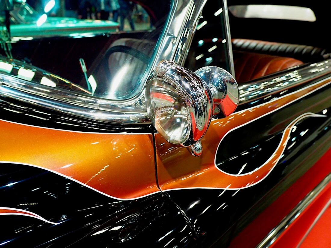 1953 Buick Special Convertible Custom spottivalo. Kuva: Kai Lappalainen. Lisenssi: CC-BY-40.