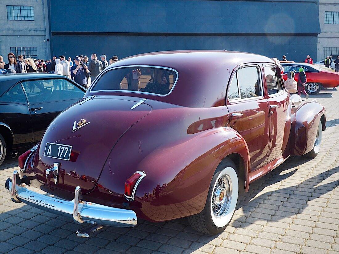1940 Cadillac Series 62 4d Sedan 346cid V8. Kuva: Kai Lappalainen. Lisenssi: CC-BY-40.