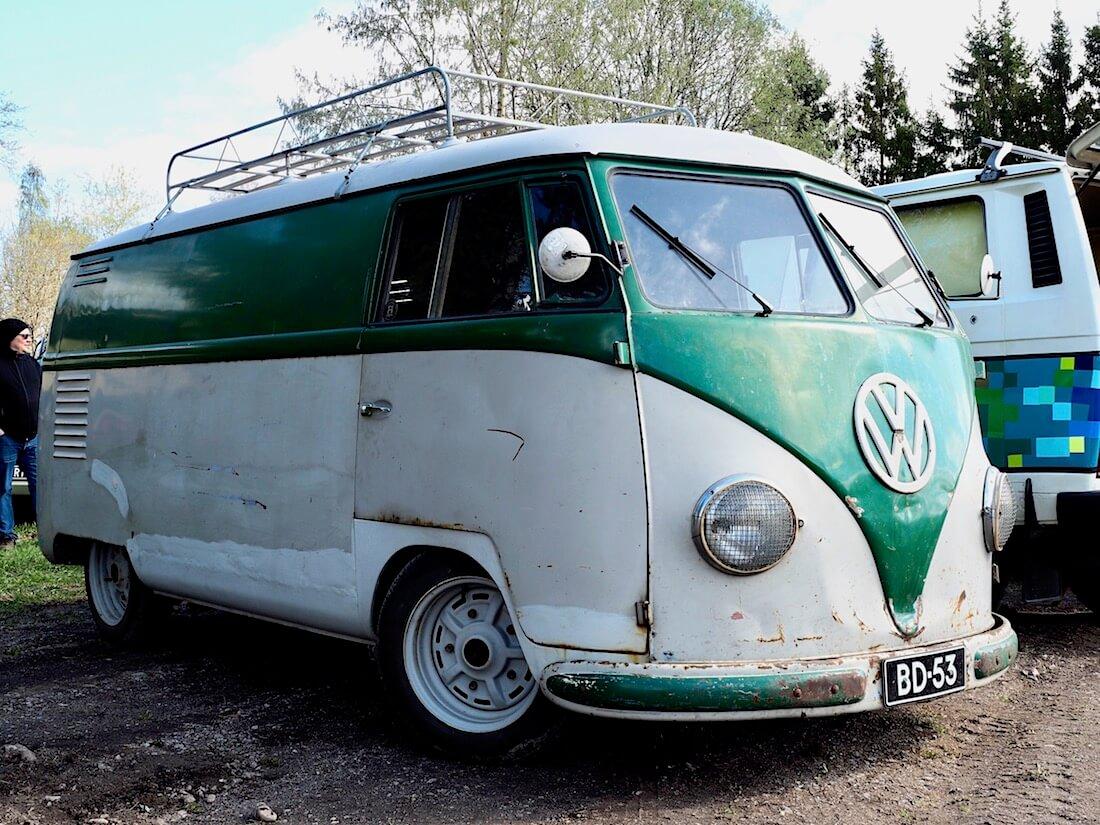 1953 VW Type2 Kastenwagen Barndoor. Kuva: Kai Lappalainen. Lisenssi: CC-BY-40.