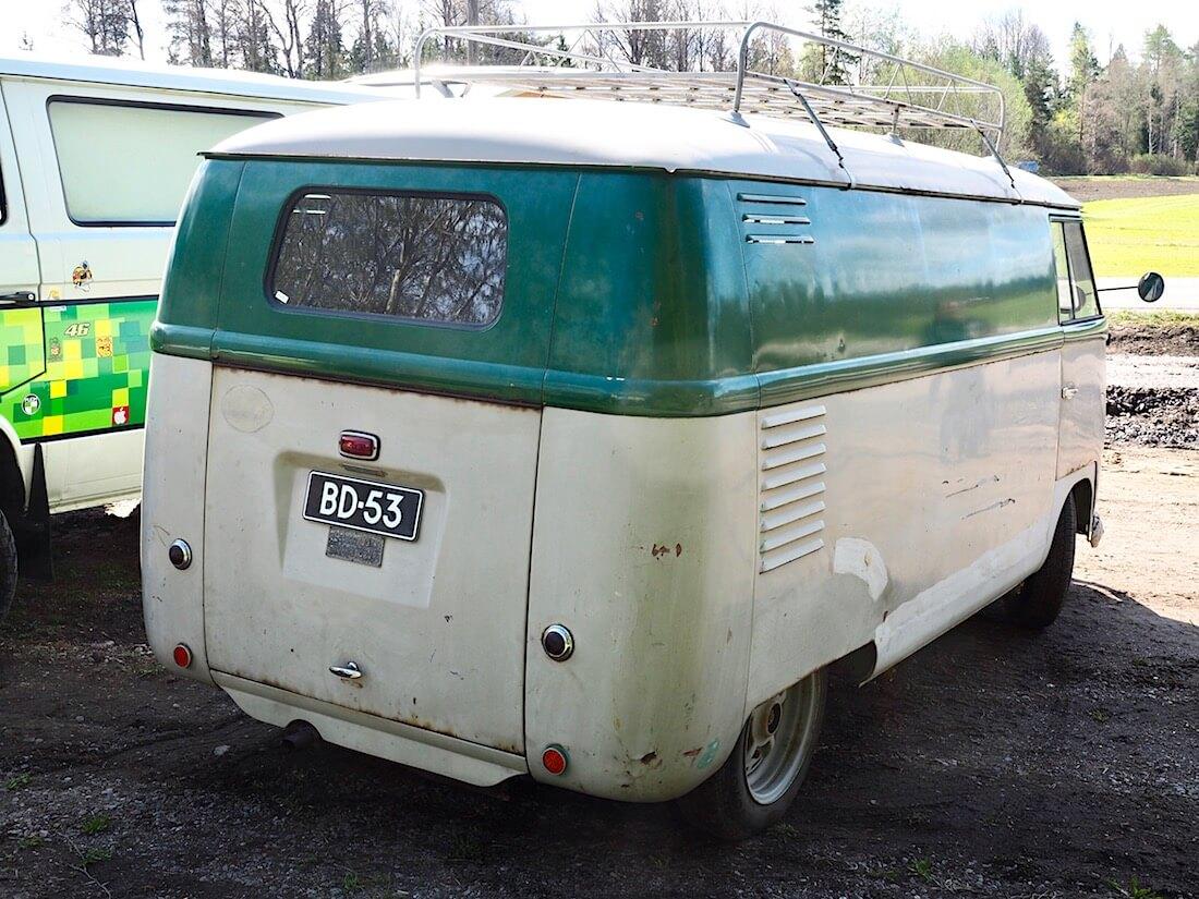 1953 Volkswagen Typ2 Barndoor umpipaku BD-53. Kuva: Kai Lappalainen. Lisenssi: CC-BY-40.