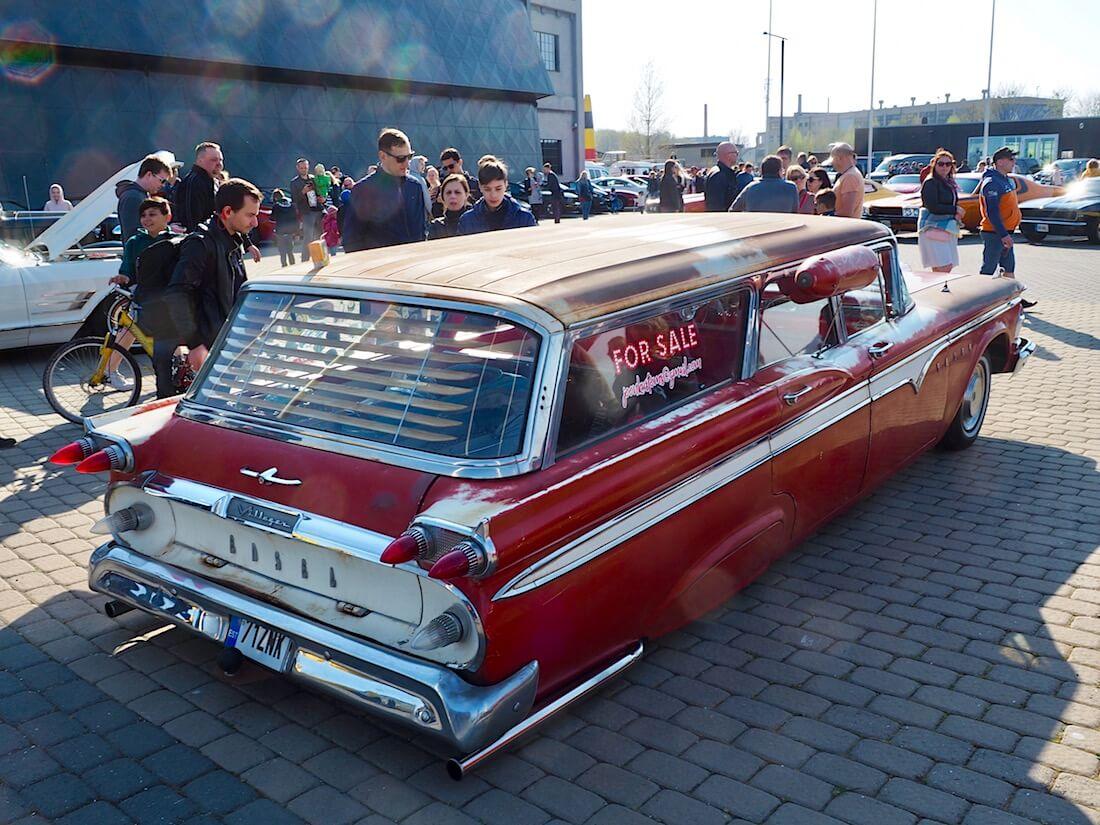 1959 Edsel Villager 4d 9-Passenger Wagon takaa. Kuva: Kai Lappalainen. Lisenssi: CC-BY-40.