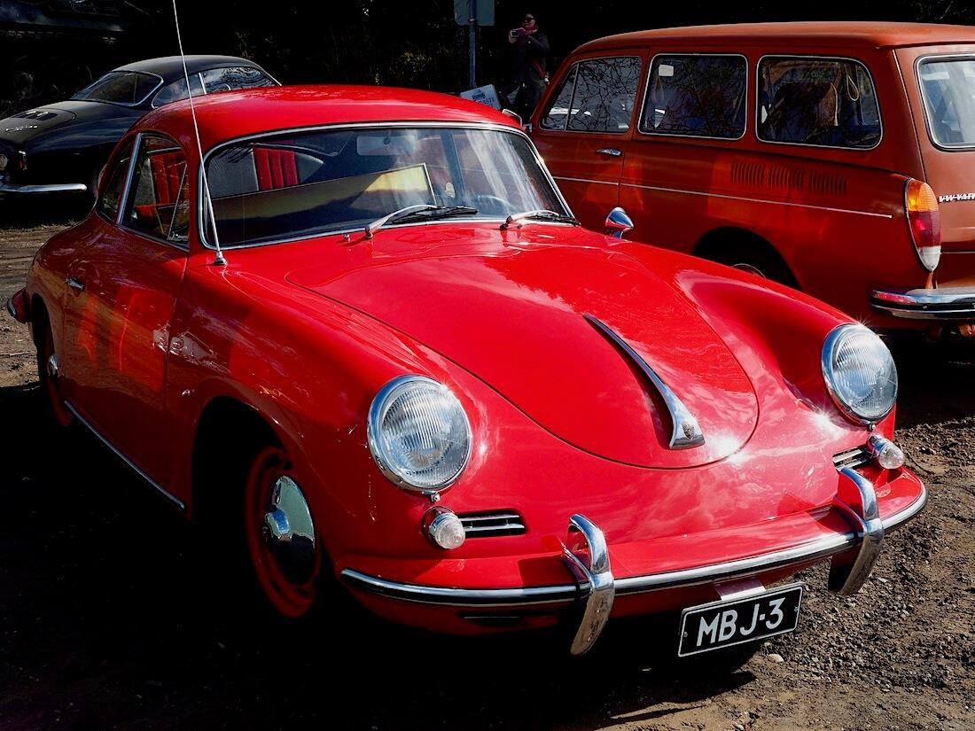 Harri Asunnan 1960 Porsche 356 B T5. Kuva: Kai Lappalainen. Lisenssi: CC-BY-40.